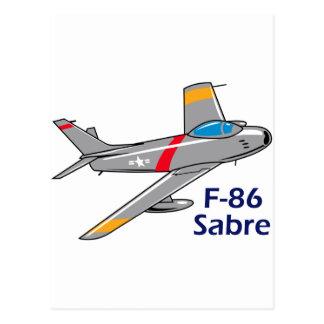 Sabre Jet Postcard