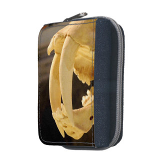 Sabre toothed cat fang wallet