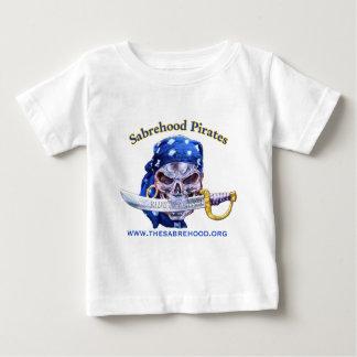 Sabrehood Pirates Web Address Clothing Baby T-Shirt