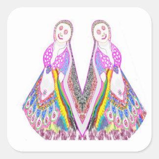 SABRINA  - Dancing Doll by Navin Sticker
