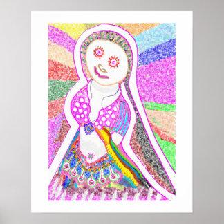 SABRINA  Doll Dancing Girl 2 Poster