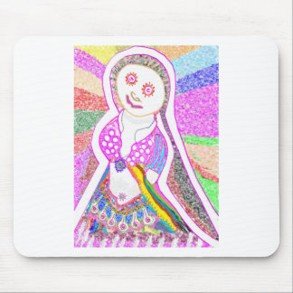 SABRINA  Dream Girl in Pink Mouse Pad