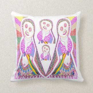 SABRINA  Dream Girl in Pink Pillow