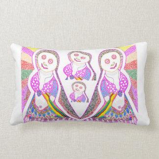 SABRINA  Dream Girl in Pink Throw Pillow