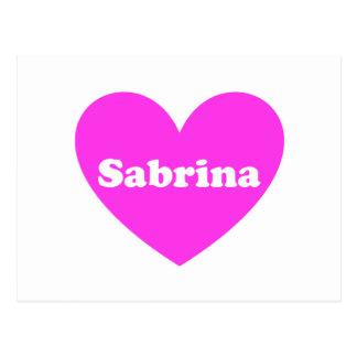 Sabrina Tarjetas Postales