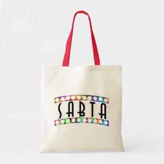 "Sabta (or Savta) Means, ""Grandmother,"" In Hebrew Canvas Bag"