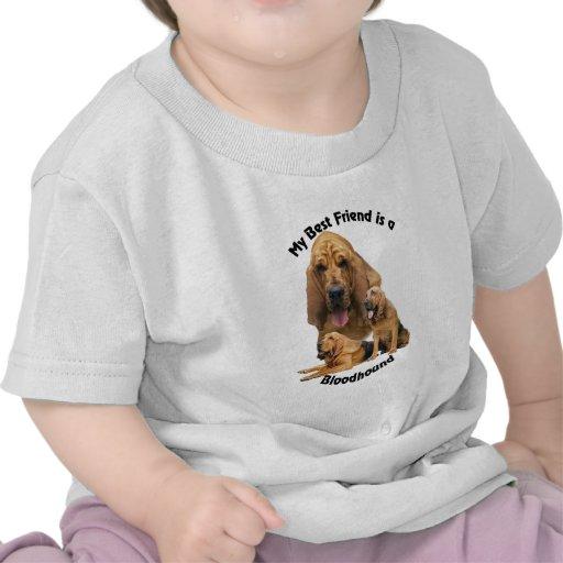 Sabueso del mejor amigo camisetas