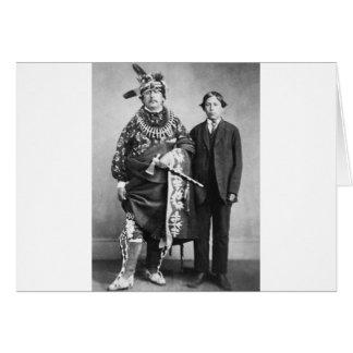 Sac and Fox Nation 1868 Greeting Card