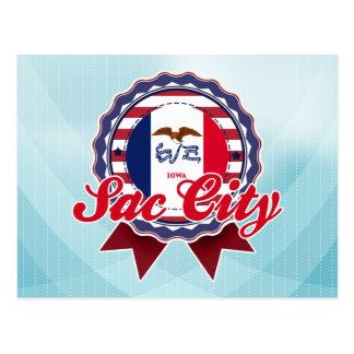Sac City, IA Postcard