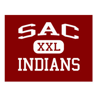 Sac - Indians - Community - Sac City Iowa Postcard