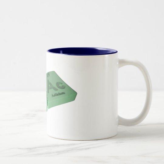 Sac-S-Ac-Sulfur-Actinium Two-Tone Coffee Mug