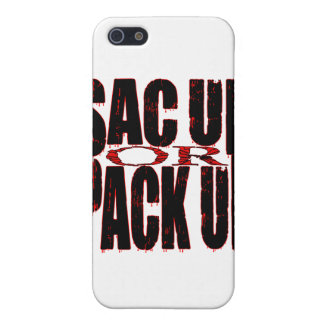 Sac Up or Pack Up iPhone 5 Covers