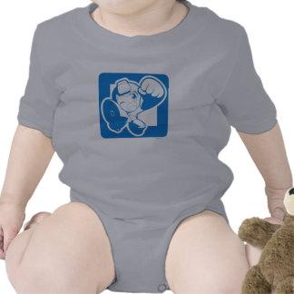 Sacador azul trajes de bebé