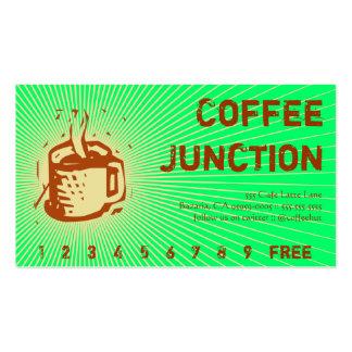 Sacador de la bebida del café/tarjeta de la