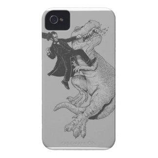 Sacador de T-Rex iPhone 4 Cárcasas