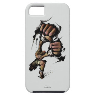 Sacador largo de Dhalsim iPhone 5 Carcasas