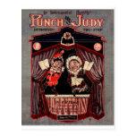Sacador y arte del ejemplo de las marionetas de Ju Tarjetas Postales