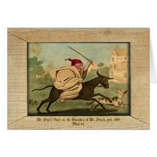 Sacador y placa VII de la imagen de Judy Tarjeta De Felicitación
