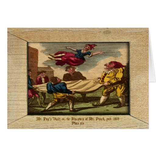 Sacador y placa XIV de la imagen de Judy Tarjeta De Felicitación