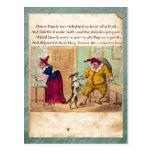 Sacador y postal de la placa II de la historia de