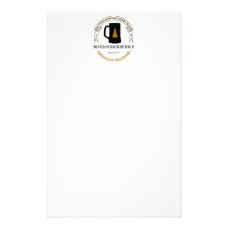 Saccharomyces cerevisiae Microbrewery Stationery