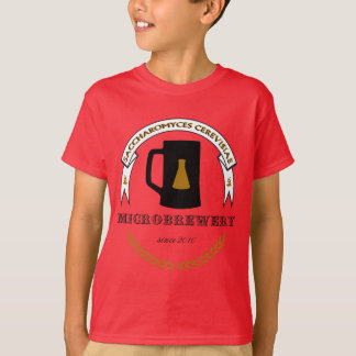 Saccharomyces cerevisiae Microbrewery T-Shirt