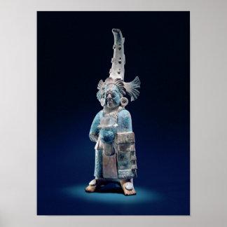 Sacerdote en trajes ceremoniales, isla de Jaina Impresiones