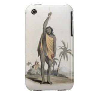 Sacerdote hindú, pub. por Edward Orme, 1804 iPhone 3 Carcasa