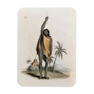 Sacerdote hindú, pub. por Edward Orme, 1804 (litho Imanes