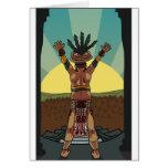 sacerdote maya tarjetas