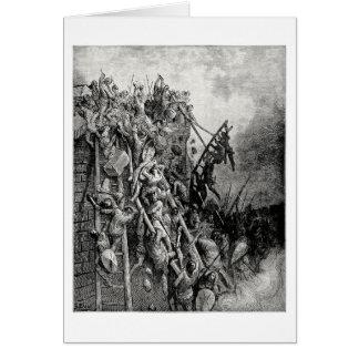 Sacerdote Volkmar y ataque Merseburg de Emicio de  Tarjeta De Felicitación