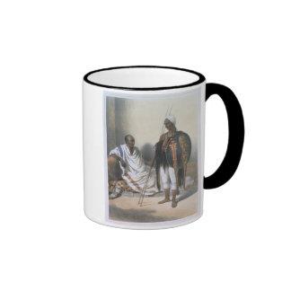 Sacerdote y guerrero abisinios, ejemplo de ' taza
