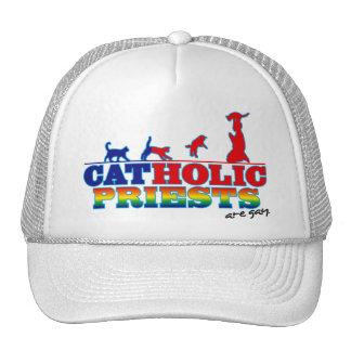 Sacerdotes católicos gorro de camionero
