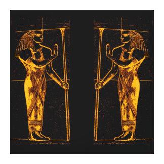 Sacerdotes egipcios en el amarillo de oro I C1 SDL Lienzo Envuelto Para Galerías