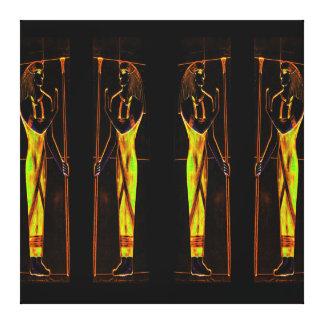 Sacerdotes egipcios en el amarillo III C1 SDL Lona Estirada Galerías