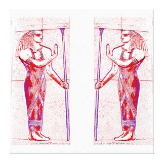 Sacerdotes egipcios en el rojo I C1 SDL del rosa Lona Estirada Galerías