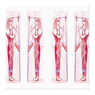 Sacerdotes egipcios en el rojo III C1 SDL del rosa Lona Estirada Galerías