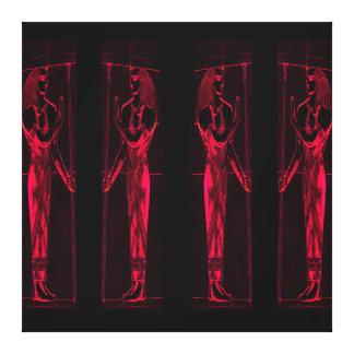 Sacerdotes egipcios en el rojo III C1 SDL Lona Estirada Galerías