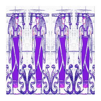 Sacerdotes egipcios y púrpura blanca III C1 SDL de Lona Estirada Galerias