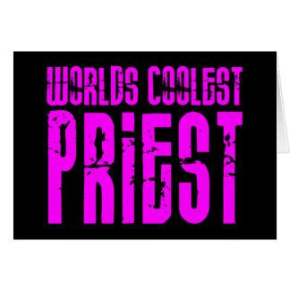Sacerdotes frescos + Rosa: El sacerdote más fresco Tarjeta