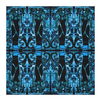 Sacerdotes y cobras egipcios en el azul II C1 SDL Lona Estirada Galerías