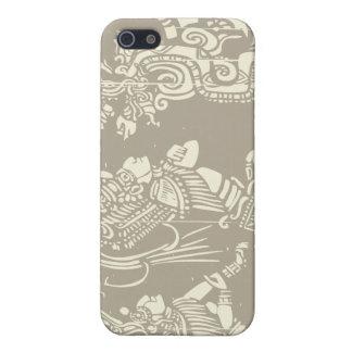 Sacerdotes y serpiente mayas de Vision iPhone 5 Cárcasas