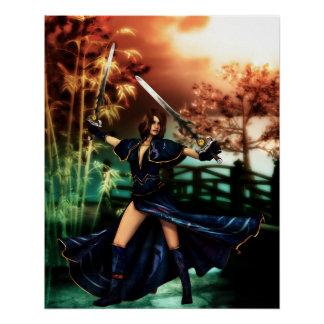 Sacerdotisa de la batalla perfect poster