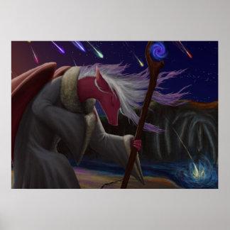 Sacerdotisa del dragón póster