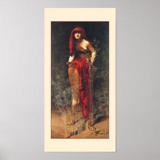Sacerdotisa del poster de Delphi