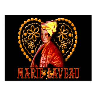 Sacerdotisa del vudú de Marie Laveau alta Postal