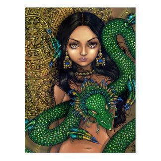 """Sacerdotisa postal de Quetzalcoatl"""