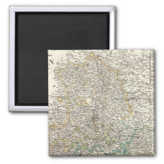 Sachsen 2 Inch Square Magnet