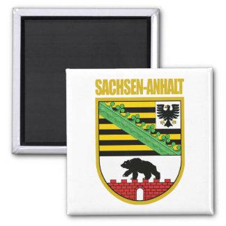 Sachsen-Anhalt 2 Inch Square Magnet