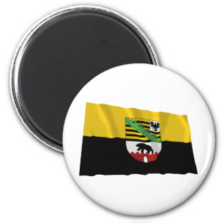 Sachsen-Anhalt Flag 2 Inch Round Magnet